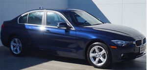 2014 BMW 328i X-drive sedan available for lease take-over