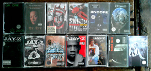VERY RARE Classic Hip Hop tape casette collection.