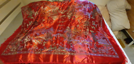 Genuine silk mural/cover/blanket from China