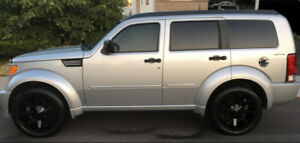 2009 Dodge Nitro RT 20 inch KMC Slides