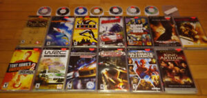 **HUGE SELECTION** PSP Games and Accessories For Sale***********