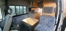 Motorhome Campervan with 12 Months Full Year Mot Renault Master