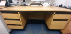 6 drawer office desk