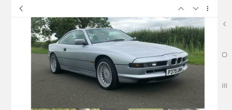 P 1996 BMW 840Ci COUPE