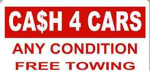 Junk cars trucks suvs vans top prices paid free towing
