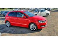 2010 Volkswagen Polo 1.6 TDI SEL RED 5 DOOR DIESEL