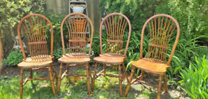 4 Solid Wood Kitchen Dining Chairs- Downtown Toronto