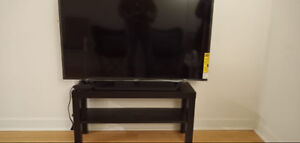 Smart HD TV with free TV stand and stunning HD experience