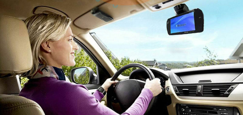 Feel a little more at ease knowing what's behind you with a rear view reversing camera