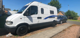 Vaxhall Movano campervan 2000 2.5L