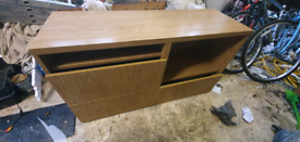 Ikea Besta Storage Unit, push-open drawer runner
