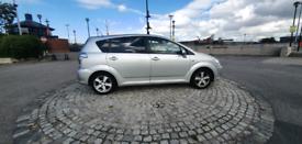 Toyota corolla verso 7 seater