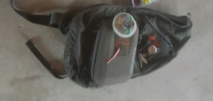 Simms sling pack and pier net