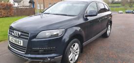 Audi Q7 3.0 tdi possible swap for a five seater van like Volkswagen LT