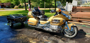 2006 HONDA GOLD WING AND TRAILER