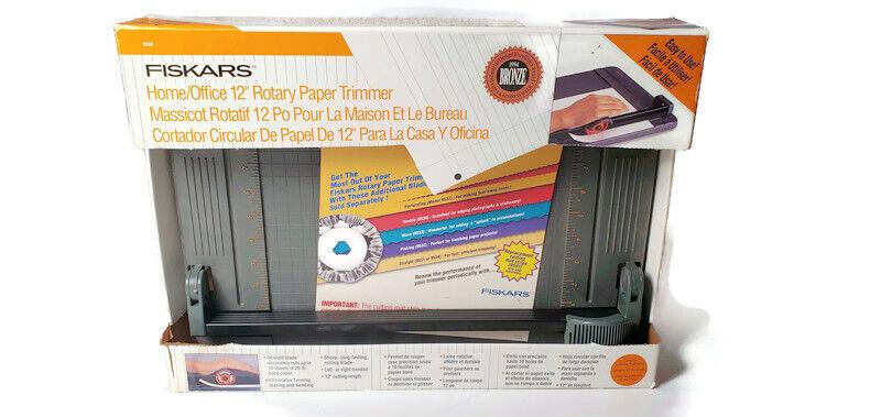 Fiskars 12 Inch Original Craft Rotary Paper Trimmer