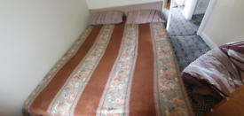 King Size Divan Bed 5ft Wide with Mattress and Headboard