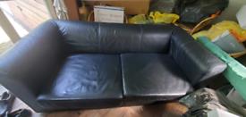 FREE Leather sofa 1.85m x 0.9m. Good condition
