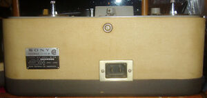 Used Vintage Sony TC-102 Reel-Reel Tape Recorder OHSC & Sony Mic West Island Greater Montréal image 4