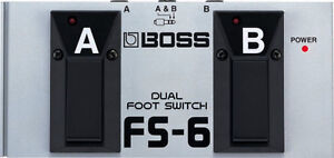 Boss FS-6 Footswitch - *MINT *comes with box