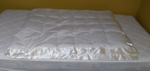 Down feather comforter