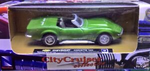 Seven 1/43 Boxed Die-Cast Cars (1964-1969)