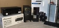 PIONEER VSX-1022 + BOSE ACOUSTIMASS 10 SERIES IV + STANDS