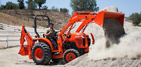 Kubota L Series Tractors (25-60hp)--0% For 60 Months!