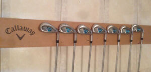 NEW LADIES ~ CALLAWAY ROGUE CUP 360 GRAPHITE IRONS SET FOR SALE!