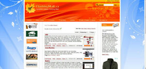 ClothingMall.ca Shopping Directory - Website + Domain For Sale