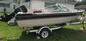 16' Chris Craft w/ 115hp Merc & Trailer Sell or Trade For Pickup