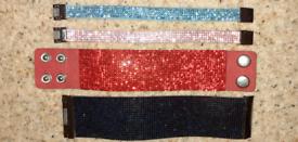 Brand New Four Diamond Belt Bracelets