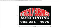 Window Tinting - Strictly Business Auto Tinting