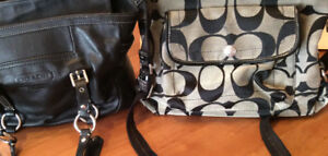 Coach purses X 2. Authentic