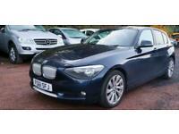 2011/61 BMW 118D 2.0TD URBAN 118 D 5DR BLUE £30 CHEAP TAX 1/2 LEATHER 1 SERIES