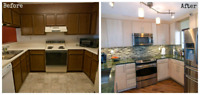 Kitchen Refacing/Painting
