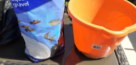 Aquarium Gravel and sand