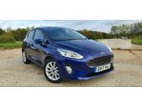 2017 Ford Fiesta 1.5TDCi Titanium 5dr 1Owner From New Only 20k HUGE SPEC NEW MOT