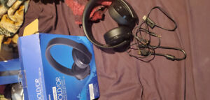 Playstation gold headset 70$