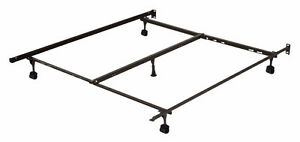 Metal Bed Frame with centre support fits queen/double size beds