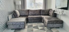 Sofa u shape sofa luxury foam brand new 300cm long rrp 1200