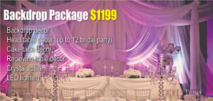 Order the Wedding Package Special from Babylon Decor