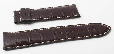 Tissot 1853 Uhrenarmband Lederband 22 mm Braun