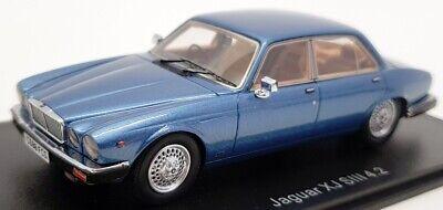 Neo Scale Models 1/43 Scale NEO49598 - Jaguar XJ Serie III - Met Light Blue