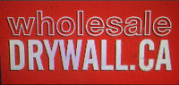 """DRYWALL 1/2"""" Inch Regular ONLY $6.49- DRYWALL SUPPLIES DELIVERY"""