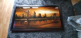 Brooklyn Bridge - Handpainted oil painting