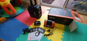 AEG 18V Bluetooth jobsite radio. Brand new.
