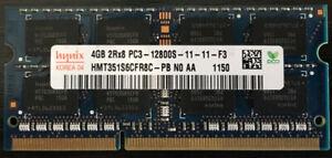 LAPTOP RAM HYNIX & ELPIDA 2 STICKS EACH 4GB 1600MHZ + 1333MHZ