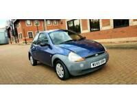 FORD KA 1.3 ,full ford dealer service history stamped on book,low millage 59k