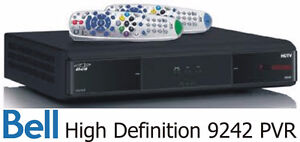 BELL 9242 HD PVR FOR SALE with 30 day warranty
